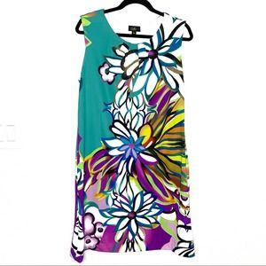 ILE NY sz 14 floral tank dress